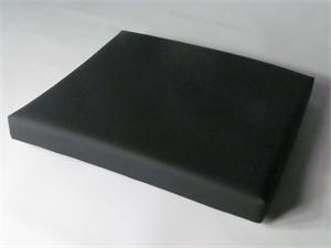 Amsco 3080 table pads covered in black Herculite SureChek Lectrolite Fusion II